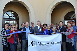 Ribbon Cutting Ceremony for Abate & Eckard